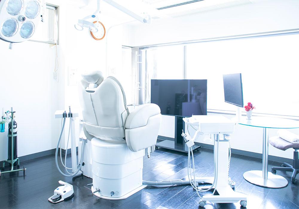安全、安心、快適なインプラントに関する、設備、機材、診療空間